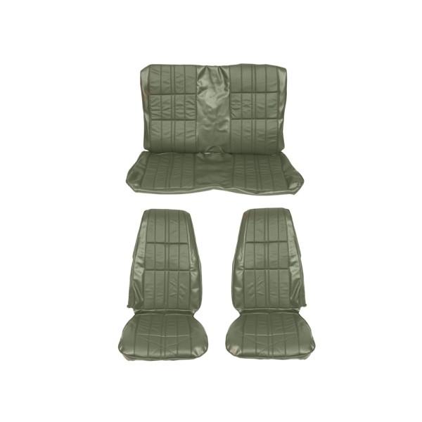 Sitzbezugsatz Deluxe, 71-73 Fastback, Grün (Green)