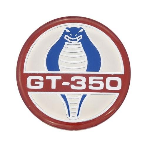 """Emblem """"GT350"""" Cobra für Sebring Lenkradnabe, 34,5mm"""