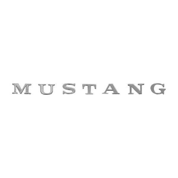 Emblem Mustang Einzelbuchstabe, zum Kleben