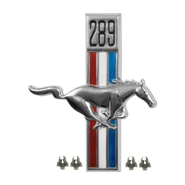 Kotflügel-Emblem, RH, 289, 67-68