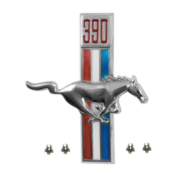 Kotflügel-Emblem, RH, 390, 67-68