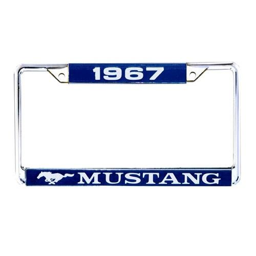 """Kennzeichenrahmen """"1967 Mustang"""""""