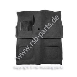Teppich, 71-73, Coupe & Fastback, schwarz