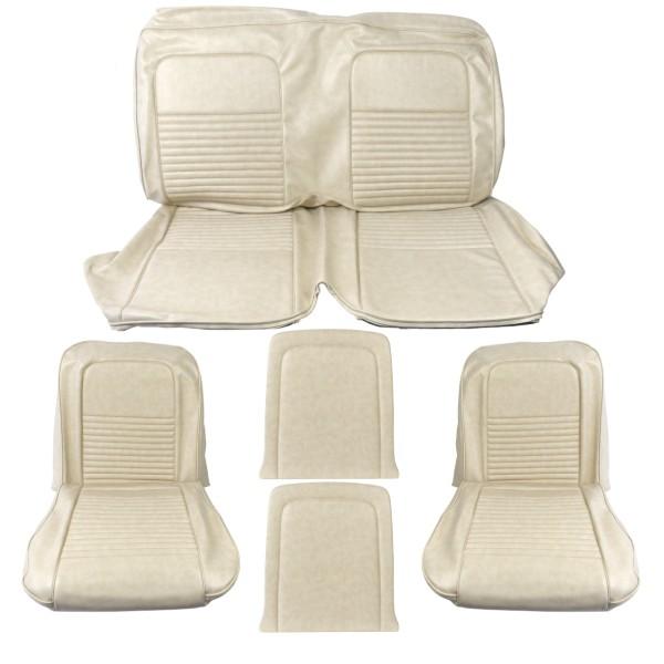 Sitzbezugsatz Standard, 67 Coupe, Beige (Parchment)