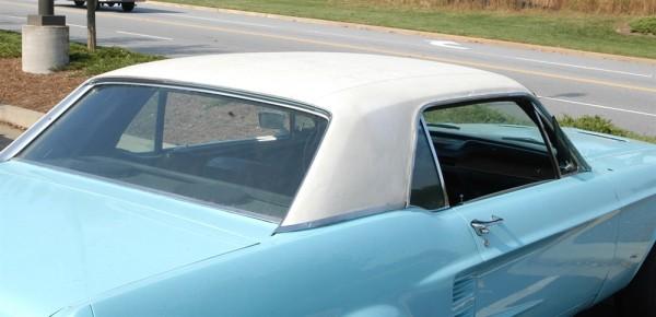 Vinyl-Dach 65-70 weiß