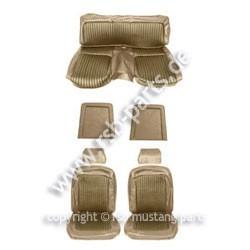 Sitzbezugsatz Standard, 69 Fastback, Goldfarben (Nugget Gold)