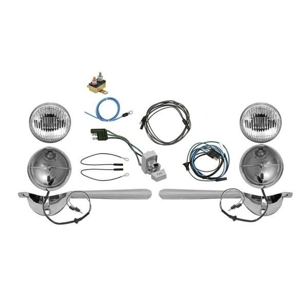 Nebelscheinwerfer Komplettsatz, 65, bei Bandtachometer
