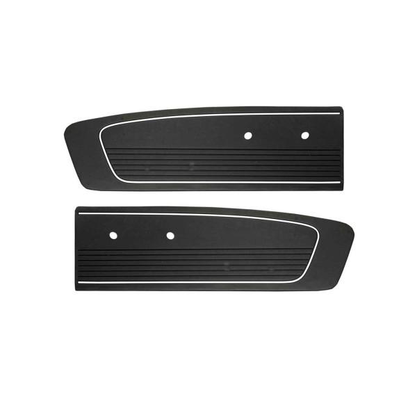 Türverkleidungen Standard 66, schwarz