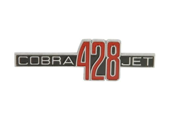 "Kotflügelemblem ""428 Cobra Jet"", 69-70 GT500"