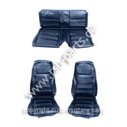 Sitzbezugsatz Standard, 70 Fastback, Blau (Blue)