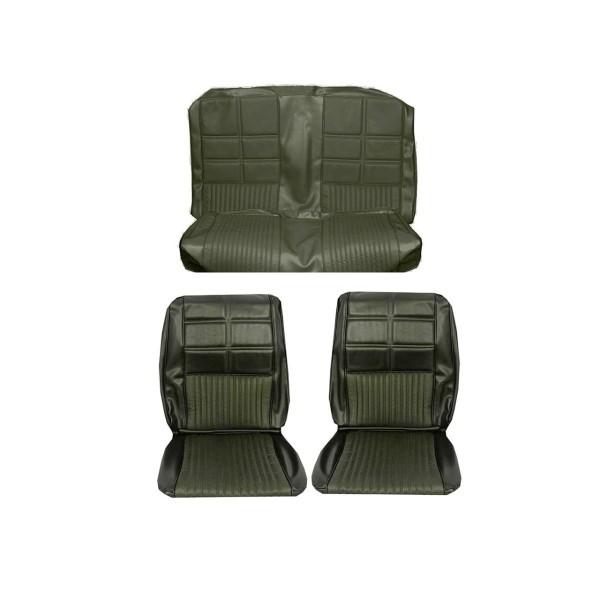 Sitzbezugsatz Deluxe, 69 Cabriolet, D.Efeu-Gold (Dk.Ivy Gold)