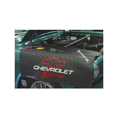 Kotflügelschoner Extra Long mit - Chevrolet Racing - Logo, Stück