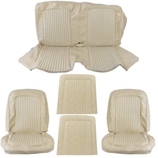 Sitzbezugsatz Standard, 68 Coupe, Beige (Parchment)