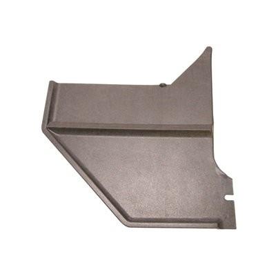 Verkleidung Fußraum 67-68 Coupe + Fastback,schwarz