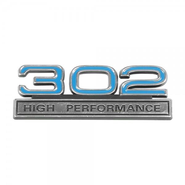 "Emblem ""302 High Performance"", Blau"