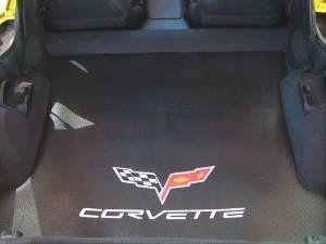 Kofferraummatte mit - Corvette C6 - Logo, Stück