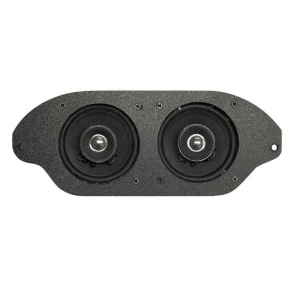 Lautsprecher Armaturenbrett, 67-73, Stereo, 2x100W, nicht A/C
