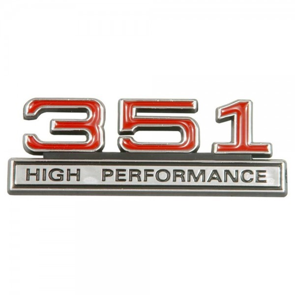 "Emblem ""351 High Performance"", Rot"