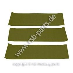 Teppich hinten 65-68 Fb olivgrün