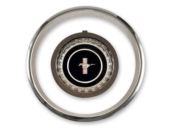 Lenkrademblem + Ring, Kit, 67, Std. und Deluxe