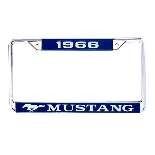 """Kennzeichenrahmen """"1966 Mustang"""""""