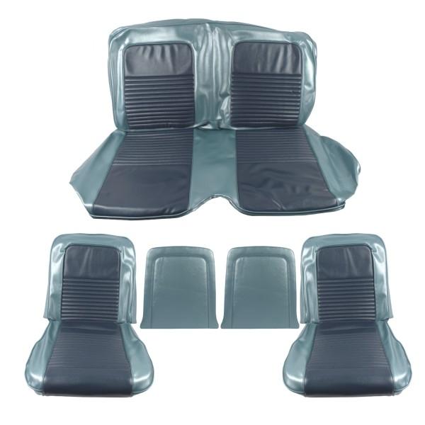 Sitzbezugsatz Standard, 67 Coupe, Blau (Blue)