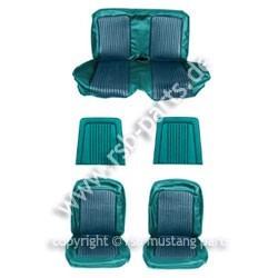 Sitzbezugsatz Standard, 68 Coupe, Türkis (Aqua)