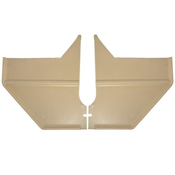 Verkleidung Fußraum 67/8 C+F pergament
