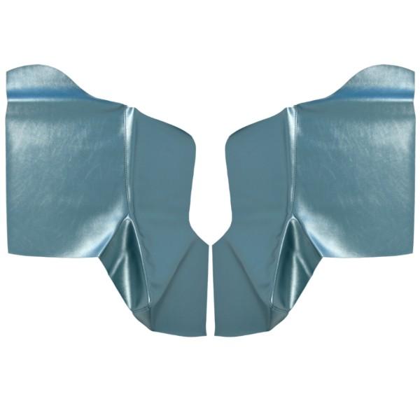 Bezug Seitenwandverkleidung, Cabrio, 65-68, hell-blau