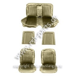 Sitzbezugsatz Standard, 68 Cabriolet, Efeu-Gold (Ivy Gold)