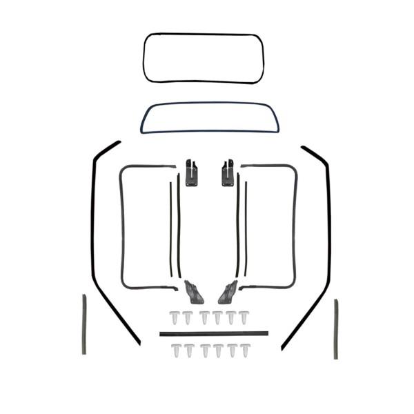 Dichtungsset Karosserie für 71-73 Coupe