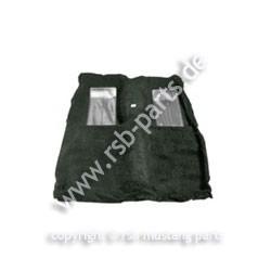 Teppich 71-73 Fastb.Mach I schwarz mit 2 grauen Einsätzen