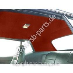Dachhimmel 71-73 Coupe rotbraun