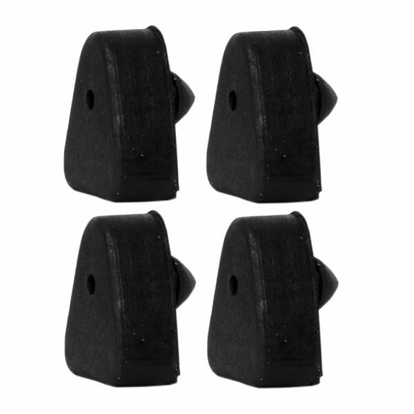 Unterlage Stoßstangen-Horn, vorne oder hinten, 65-68, 4-Stück