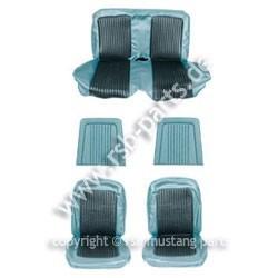 Sitzbezugsatz Standard, 68 Cabriolet, Blau (Blue)