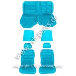 Sitzbezugsatz Deluxe, 69 Fastback, Hellblau (Light Blue)
