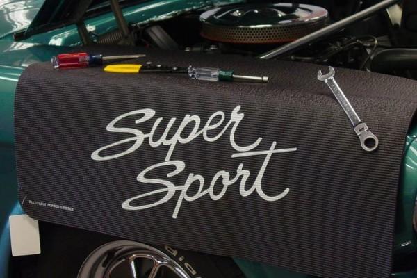 "Kotflügelschoner mit ""Super Sport Script"" Logo, Stück"