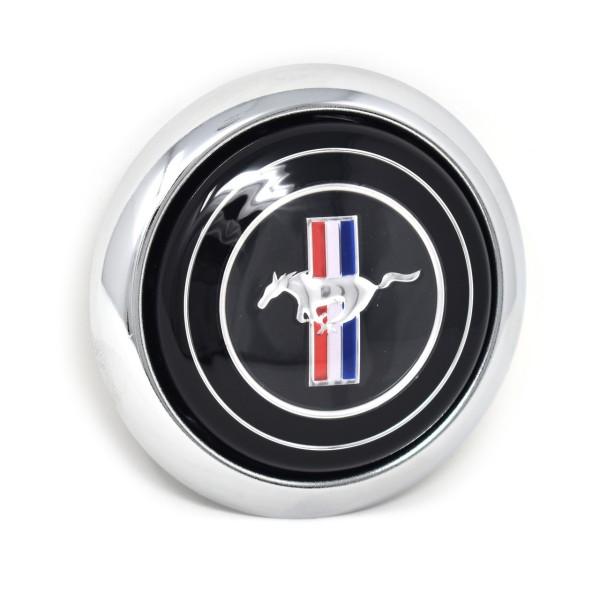 Hupenknopf Mustang für Shelby Holzlenkrad