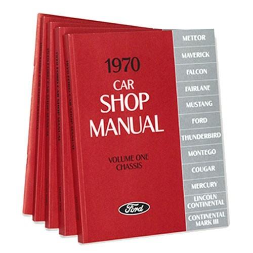 """Buch """"Shop Manual"""" - Werkstatthandbuch, 70"""