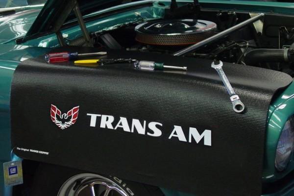 Kotflügelschoner mit - Trans Am - Logo, Stück