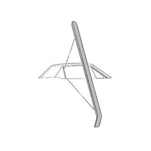 Dichtung am hinteren Dreiecksfenster, RH, 65-68, Cabriolet