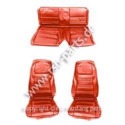 Sitzbezugsatz Standard, 70 Fastback, Zinnoberrot (Vermillion)