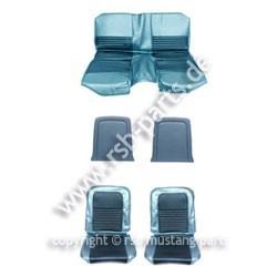 Sitzbezugsatz Standard, 67 Fastback, Blau (Blue)