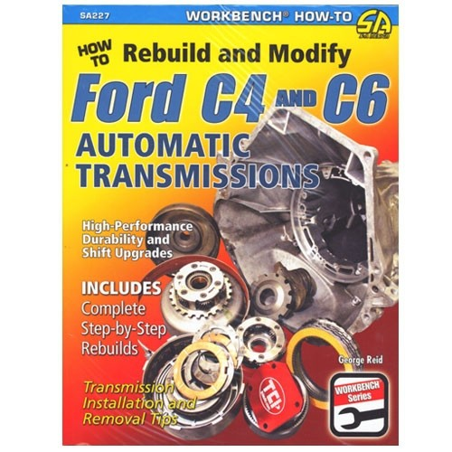 "Buch Mustang ""How To Rebuild Automatic Transmission C4 & C6"""