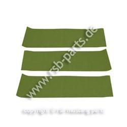 Teppich hinten 65-68 Fb moosgrün