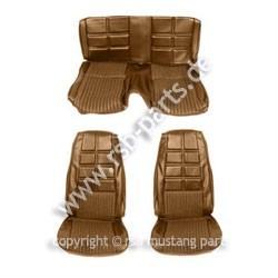 Sitzbezugsatz Deluxe, 70 Fastback, Ingwerrot (Ginger)