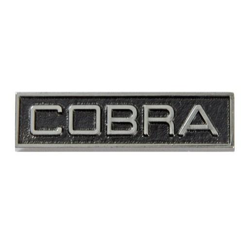 "Emblem Kotflügel/C-Säule ""Cobra"", 68-70"