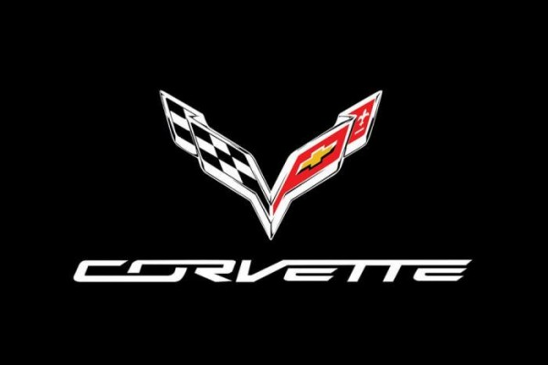 "Kotflügelschoner mit ""Corvette C7"" Logo, Stück"