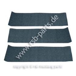 Teppich hinten 69-70 Fastback blau